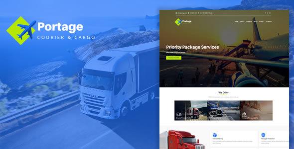 Portage - Cargo & Logistics HTML Template