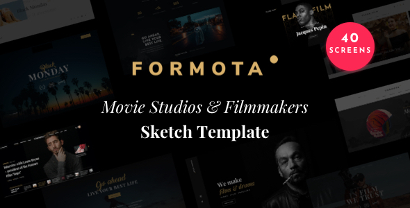 Formota - Movie Studios and Filmmakers Sketch Template