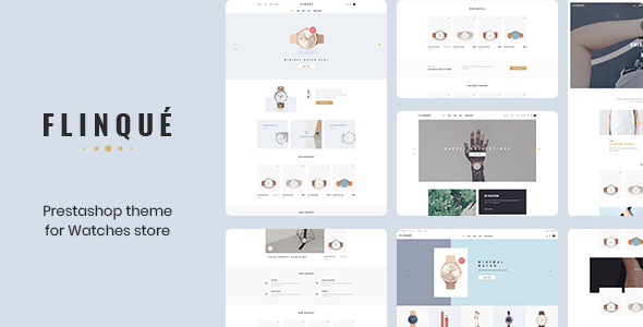 Leo Flinque - Prestashop Theme for Fashion & Accessories Store 2019