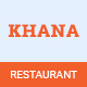 KHANA - One Page Restaurant PSD Template - ThemeForest Item for Sale