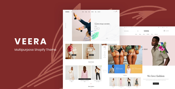 Veera - Multipurpose Shopify Fashion Theme