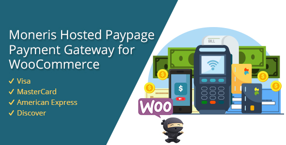 Moneris Hosted Paypage Payment Gateway for WooCommerce