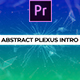 Abstract Plexus Intro Mogrt - VideoHive Item for Sale