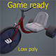 Adult tricycle - 3DOcean Item for Sale