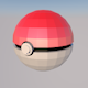 POKEBALL Low-poly model - 3DOcean Item for Sale
