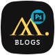 Mobile & App Templates - Blogs in Photoshop - ThemeForest Item for Sale