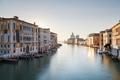 Venice, Grand Canal at sunrise with Saint Mary of Health basilica in Italy - PhotoDune Item for Sale