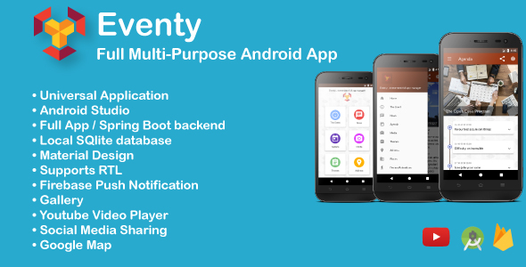 Make A Android App With Mobile App Templates from CodeCanyon