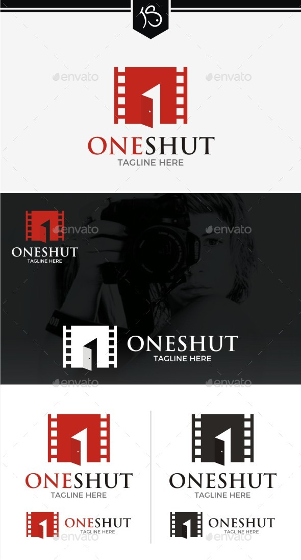 One Shut Logo Template