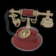 Vintage Telephone - 3DOcean Item for Sale