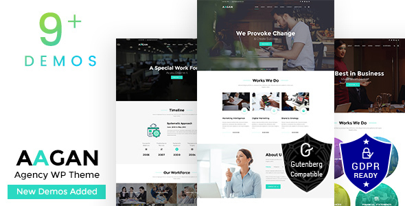 Aagan Startup WordPress