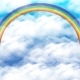 Sky with Rainbow - GraphicRiver Item for Sale
