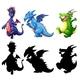 Dinosaur Set - GraphicRiver Item for Sale