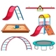 Set of Playground Equipment - GraphicRiver Item for Sale