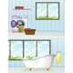 Laundry Room and Bathroom - GraphicRiver Item for Sale
