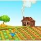 Rural Farm Landscape - GraphicRiver Item for Sale