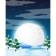 Night Winter Landscape - GraphicRiver Item for Sale