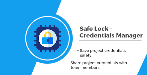 Safelock - Credential Manager