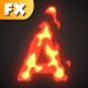 Fire Alphabet - VideoHive Item for Sale