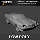 Low Poly  Camaro 3d model - 3DOcean Item for Sale