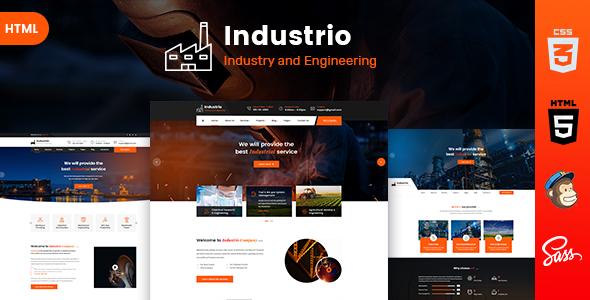Industrio - Industrial Industry & Factory