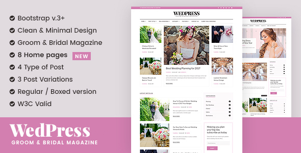 WedPress - Wedding WordPress