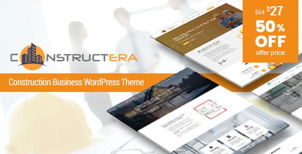 Constructera – Construction & Business WordPress Theme