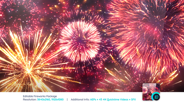Firework After Effects Templates from VideoHive