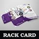 Multipurpose Rack Card DL Flyer Design Template - GraphicRiver Item for Sale