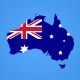Australia Map Kit - VideoHive Item for Sale