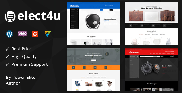 Elect4u - Multipurpose WooCommerce Theme
