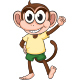 Funny Monkey - GraphicRiver Item for Sale