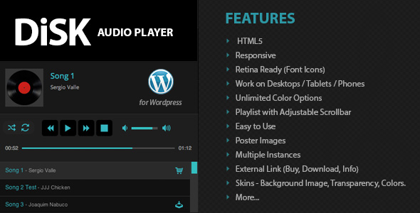 Disk Audio Player For Wordpress Download