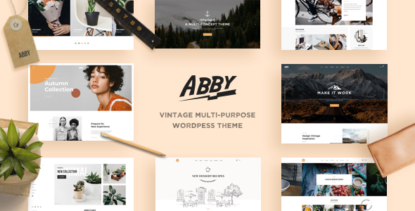 Abby – Vintage Multi-purpose WordPress Theme