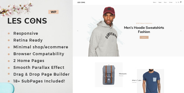Lescons - Minimal WooCommerce Theme