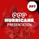 Hurricane Presentation Template - GraphicRiver Item for Sale