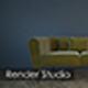Render Studio for furniture - 3DOcean Item for Sale