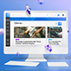 Eurielle Web - Aesthetic Events & Dashboard Web App UI Kit - GraphicRiver Item for Sale