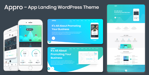 Appro – App Landing WordPress Theme