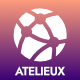 Atelieux - Fullscreen Portfolio Website Template - ThemeForest Item for Sale