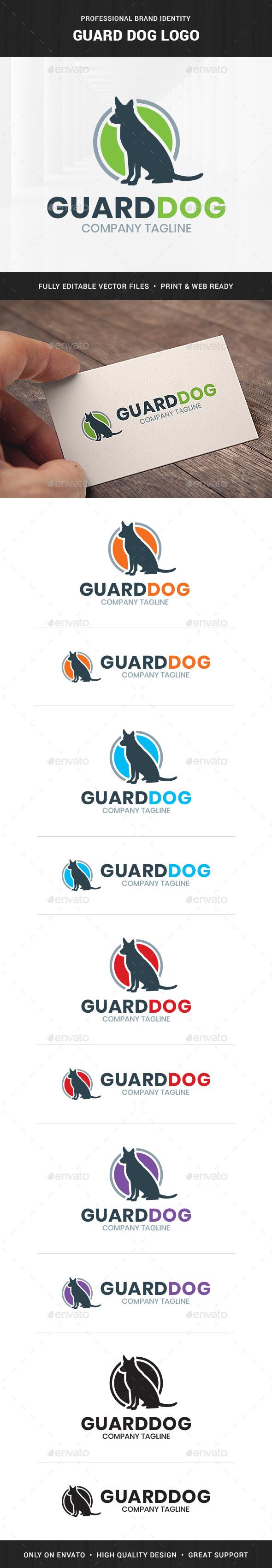 Guard Dog Logo Template