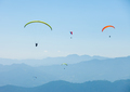 Paragliding over Pokhara, Nepal - PhotoDune Item for Sale