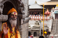 Sadhu in Pashupatinath - PhotoDune Item for Sale