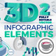 3D Corporate Infographic Elements 2 - GraphicRiver Item for Sale