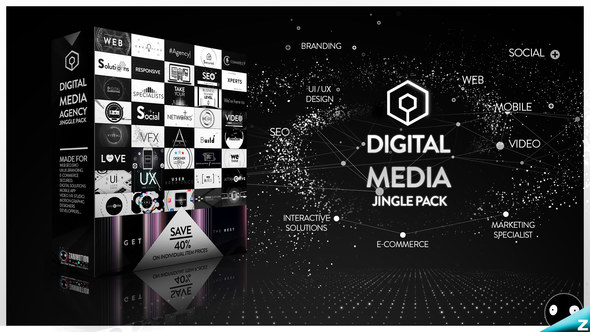 The Digital Media Agency Jingle Pack