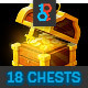 Treasure Chests Animation Pack - GraphicRiver Item for Sale