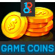 Game Coins Pack - GraphicRiver Item for Sale