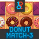 Donut Match 3 GUI Pack - GraphicRiver Item for Sale