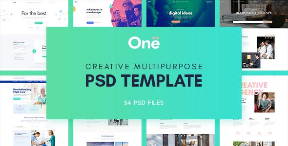 Onne – Creative & Clean Multipurpose Template
