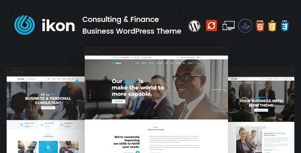 Ikon - Consulting WordPress Theme